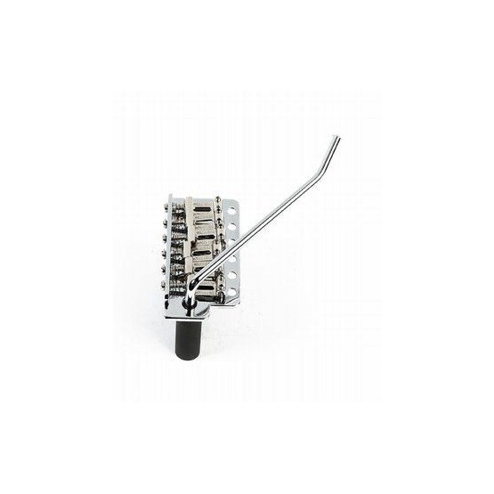 WILKINSON SB5316010 WVC-SB VINTAGE STYLE TREMOLO, STEEL BLOCK, PUSH-IN ARM, CHROME, 2-1/8 SPACING