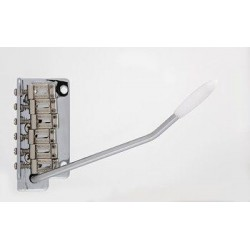 WILKINSON SB5317010 WV2-SB TREMOLO, STEEL BLOCK, PUSH-IN ARM, CHROME, 2-1/8 STRING SPACING