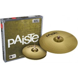 PAISTE 101 ESSENTIAL 14+18 SET DE PLATOS BATERIA