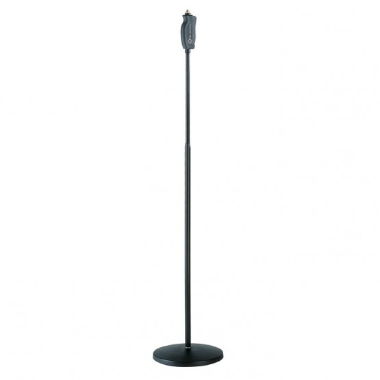 ADAM HALL M26085B ONE HAND SOPORTE MICROFONO BLACK. OUTLET