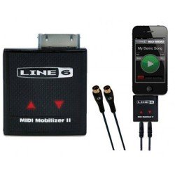 LINE 6 MIDI MOBILIZER II INTERFAZ MIDI PARA iPHONE, iPOD TOUCH, iPAD. OUTLET