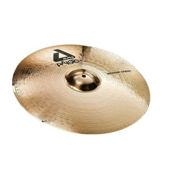 PAISTE 0881416 ALPHA 'B' MEDIUM CRASH 16 PLATO BATERIA. OUTLET