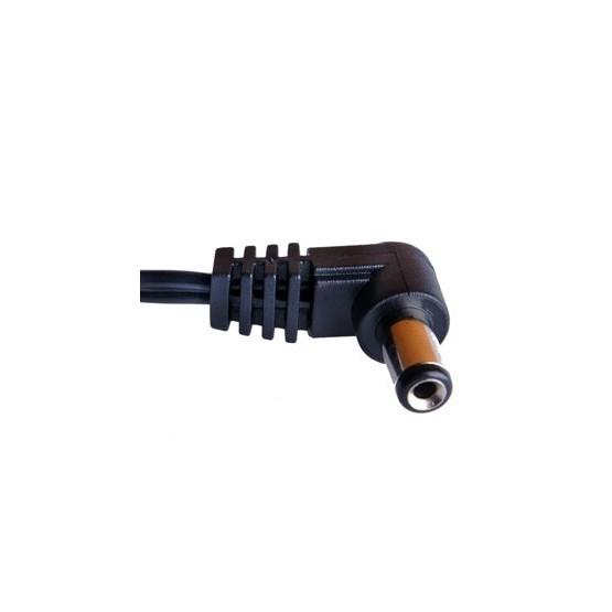 PCIOKS JC1050 CABLE CONEXION RCA DC CENTRO NEGATIVO 50CM