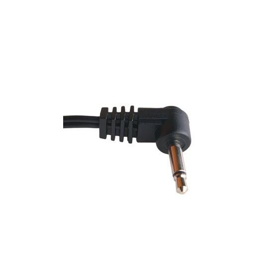 PCIOKS JC5050 CABLE CONEXION RCA MINIJACK PUNTA POSITIVO 50CM
