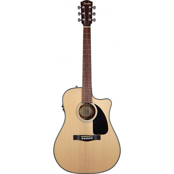 FENDER CD100CE CUTAWAY GUITARRA ELECTROACUSTICA FISHMAN SATIN FINISH NATURAL