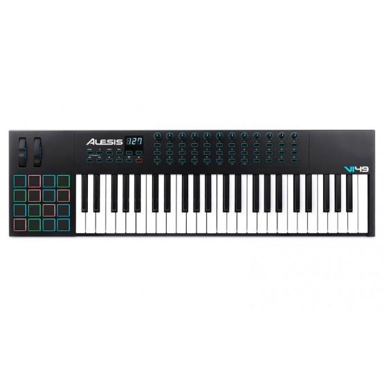 ALESIS VI49 TECLADO CONTROLADOR MIDI USB 49 TECLAS