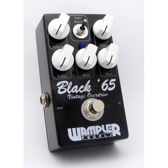 WAMPLER BLACK '65 OVERDRIVE PEDAL