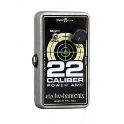 ELECTRO HARMONIX 22 CALIBER PEDAL AMPLIFICADOR. OUTLET