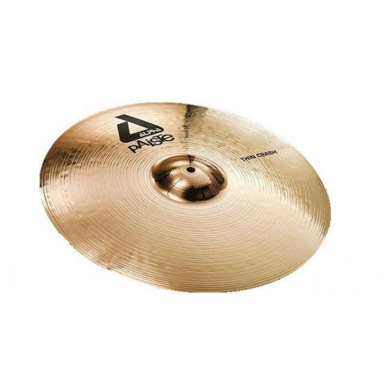 PAISTE 0881216 ALPHA 'B' THIN CRASH 16 PLATO BATERIA