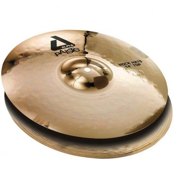 PAISTE 0883414 14 ALPHA 'B' ROCK HATS 14 PLATOS BATERIA