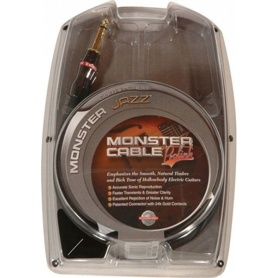 MONSTER MJAZZ21 CABLE INSTRUMENTO JAZZ 6,40 METROS