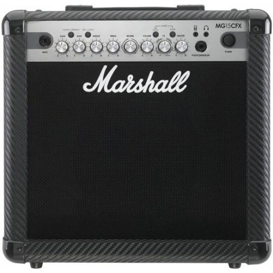 MARSHALL MG15CFX COMBO AMPLIFICADOR GUITARRA 15W 1X8 CON EFECTOS