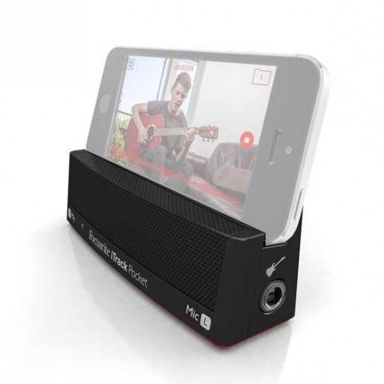 FOCUSRITE iTRACK POCKET SISTEMA GRABACION IPHONE