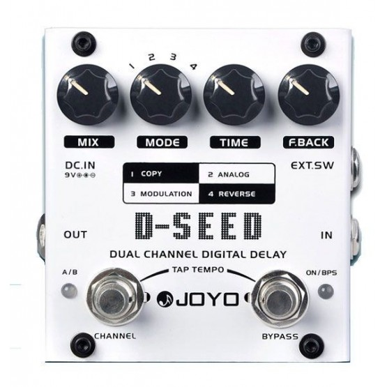 JOYO D SEED PEDAL DELAY DIGITAL. OUTLET. DEMO