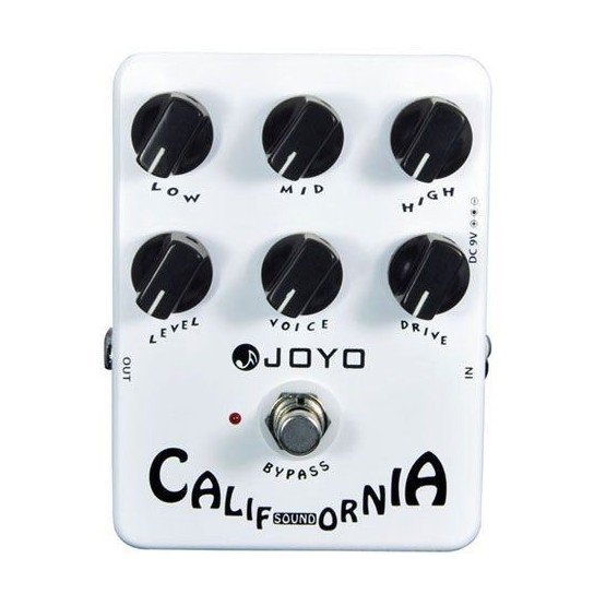 JOYO JF 15 CALIFORNIA SOUND PEDAL DISTORSION