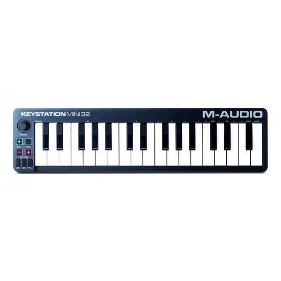 M AUDIO KEYSTATION MINI32II TECLADO CONTROLADOR MIDI