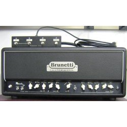 BRUNETTI MARK 6L6 CABEZAL AMPLIFICADOR GUITARRA VALVULAS 50W. OUTLET. DEMO