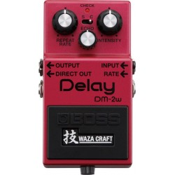 BOSS DM2W WAZA CRAFT PEDAL DELAY