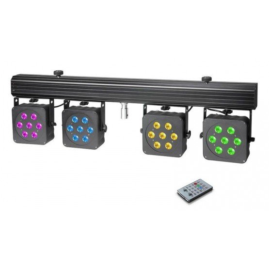 CAMEO CLMPAR3 SET DE 4 FOCOS PAR LED