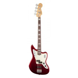 FENDER AMERICAN STANDARD JAGUAR BASS RW BAJO ELECTRICO MYSTIC RED. OUTLET