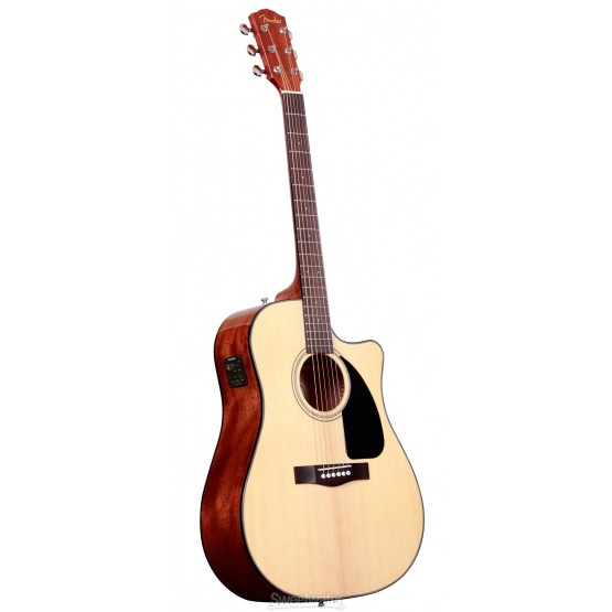 FENDER CD60CE GUITARRA ELECTROACUSTICA NATURAL