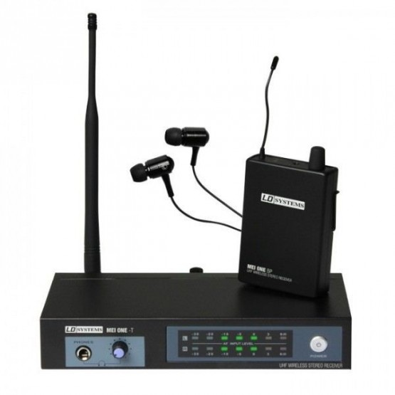 LD SYSTEMS LDMEIONE1 SERIE MEI ONE SISTEMA DE MONITORAJE INALAMBRICO IN-EAR 863,700 MHZ