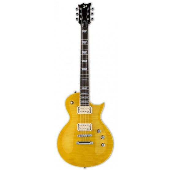 ESP LTD EC401 VF DMZ LD GUITARRA ELECTRICA LEMON DROP