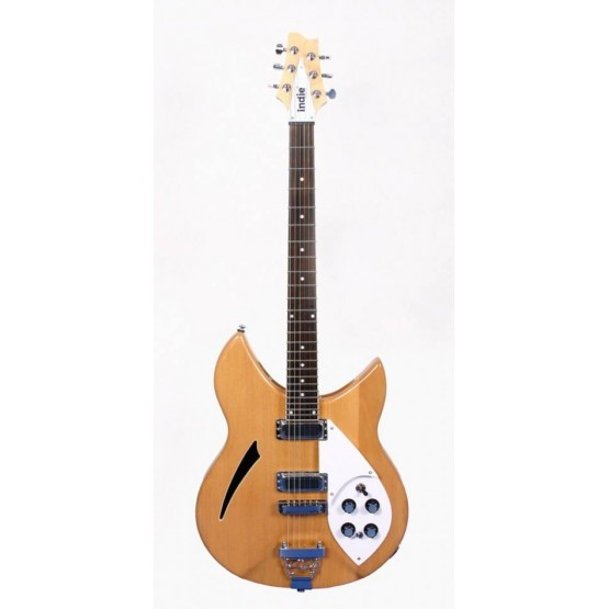 INDIE 1115 GUITARRA ELECTRICA IRK5 6 NATURAL. OUTLET