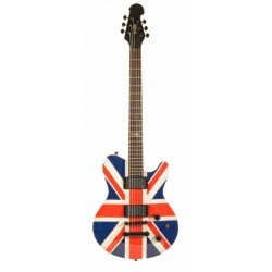 INDIE 1331 GUITARRA ELECTRICA SHAPE FLAG UNION JACK. OUTLET
