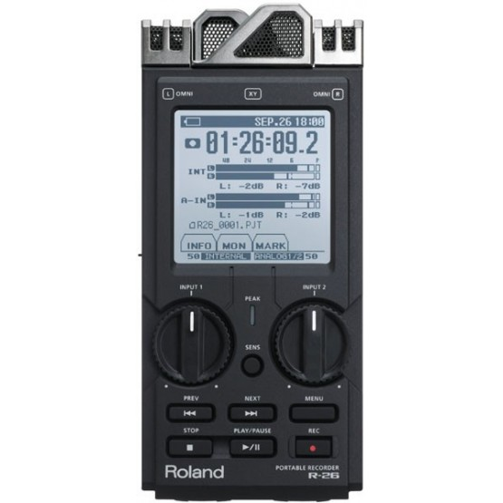 ROLAND R26 GRABADOR PORTATIL. OUTLET