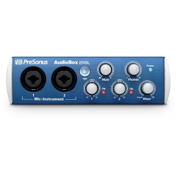 PRESONUS AUDIOBOX AB22VSL INTERFAZ DE AUDIO USB. DEMO