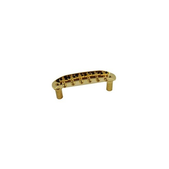 ALL PARTS SB0210002 BRIDGE FOR JAZZMASTER JAGUAR WITH MOUNTING CUPS GOLD