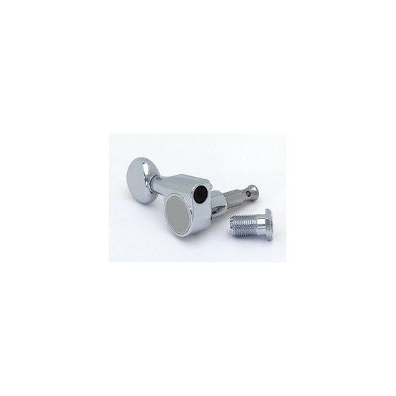 ALL PARTS TK7590L10 TUNING KEYS WITH 2 MOUNTING PINS CHROME 6-IN-LINE LEFTHANDED