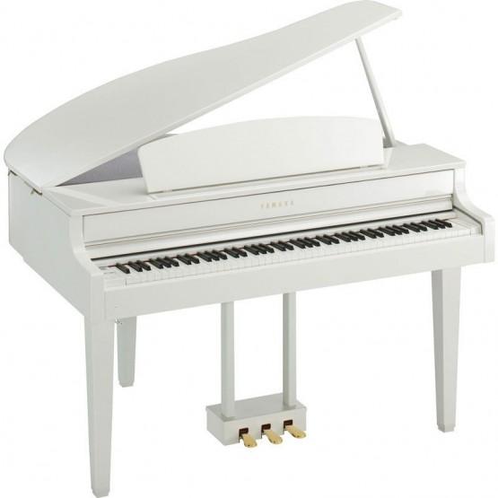 YAMAHA CLP565 GP WHP PIANO DIGITAL CLAVINOVA BLANCO PULIDO. OUTLET