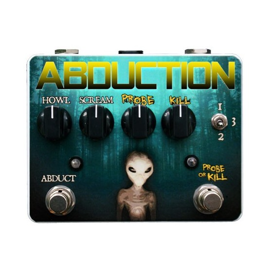TORTUGA EFFECTS ABDUCTION GERMANIUM PEDAL OVERDRIVE