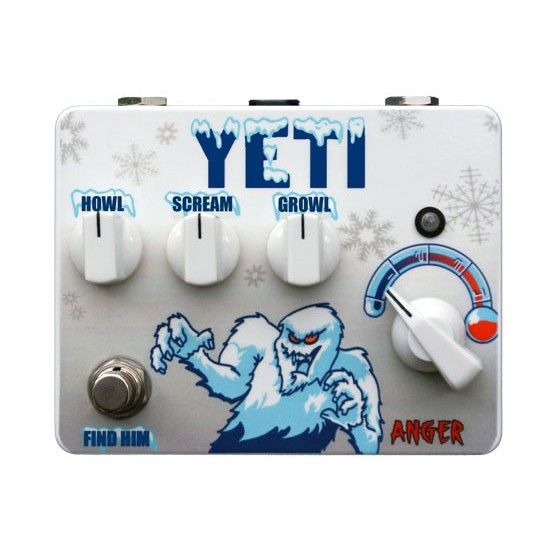 TORTUGA EFFECTS YETI FUZZ STORTION PEDAL