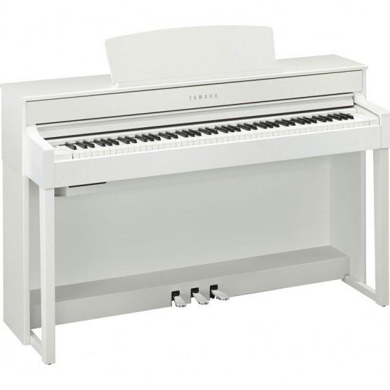 YAMAHA CLP575 WH PIANO DIGITAL CLAVINOVA BLANCO MATE