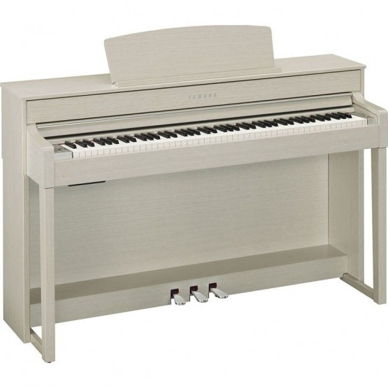 YAMAHA CLP545 WA PIANO DIGITAL CLAVINOVA FRESNO BLANCO