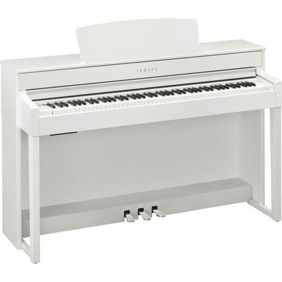 YAMAHA CLP545 WH PIANO DIGITAL CLAVINOVA BLANCO MATE