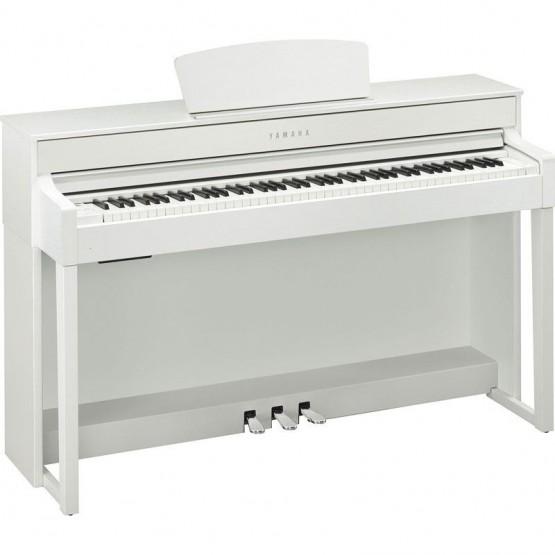 YAMAHA CLP535 WH PIANO DIGITAL CLAVINOVA BLANCO MATE