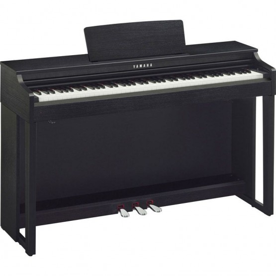 YAMAHA CLP525 B PIANO DIGITAL CLAVINOVA NEGRO NOGAL. OUTLET