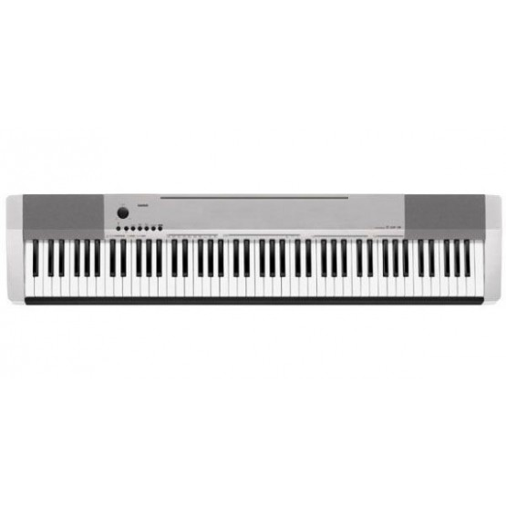 CASIO CDP130 SL PIANO DIGITAL PLATEADO