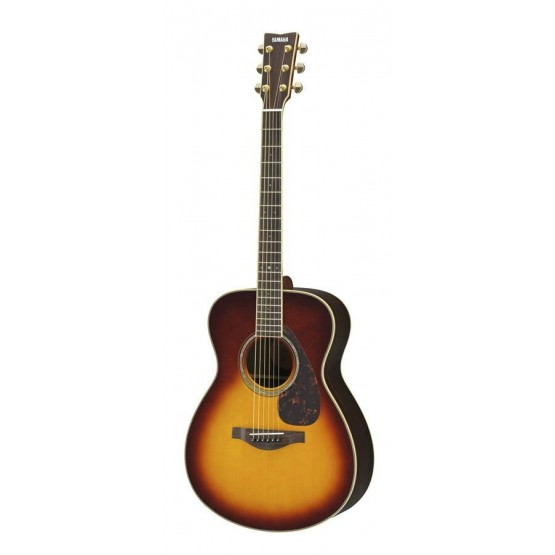 YAMAHA LS6 ARE BS GUITARRA ELECTROACUSTICA BROWN SUNBURST