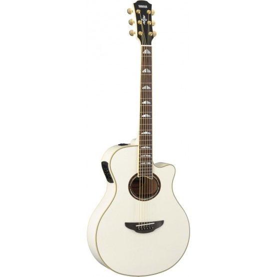 YAMAHA APX1000 GUITARRA ELECTROACUSTICA PEARL WHITE