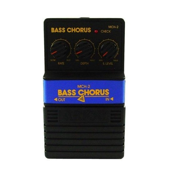 ALL PARTS MCH2 ARION BASS CHORUS EFFECTS PEDAL. OUTLET