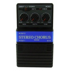 ALL PARTS SCHZ ARION STEREO CHORUS EFFECTS PEDAL. OUTLET