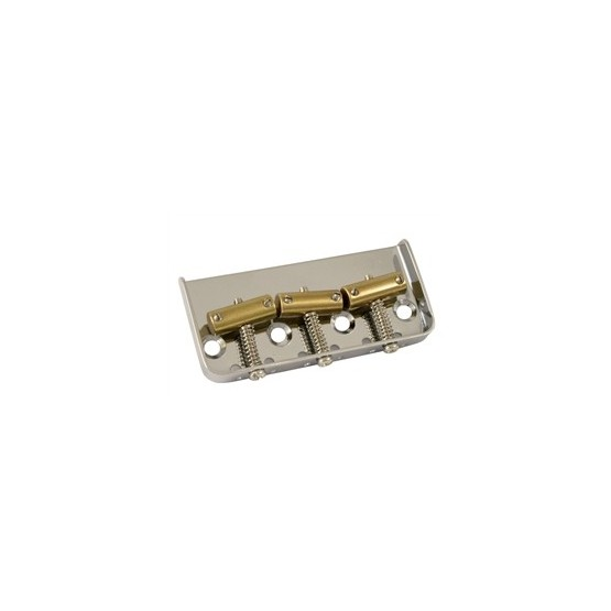 ALL PARTS TB5126001 NICKEL VINTAGE STYLE SHORT TELECASTER BRIDGE