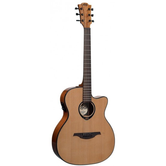LAG T66ACE GUITARRA ELECTROACUSTICA AUDITORIO CUTAWAY. OUTLET