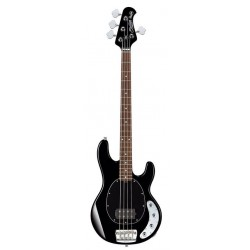 STERLING BY MUSICMAN RAY34 BK BAJO ELECTRICO STINGRAY4 NEGRO CON FUNDA