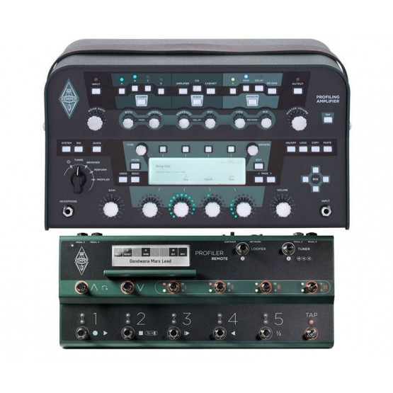KEMPER PACK PROFILER HEAD BLACK AMPLIFICADOR GUITARRA CON PEDALERA PROFILER REMOTE